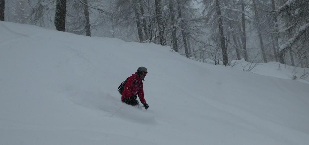 Hors piste Puy Saint Vincent - Bois de la Draille