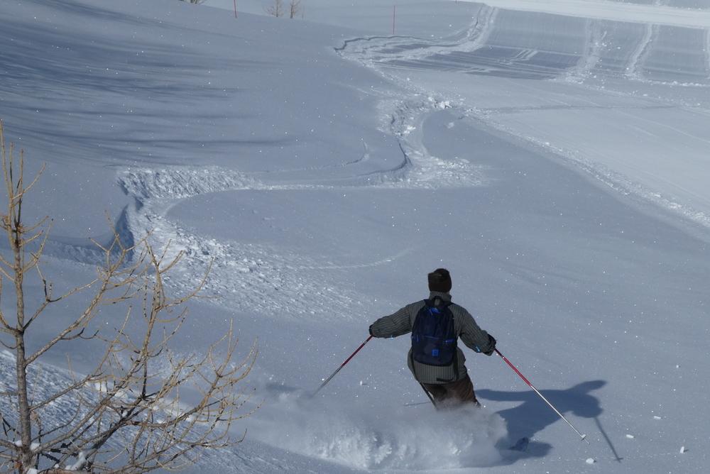 Ski randonnée les Orres - Echauffement 5 étoiles