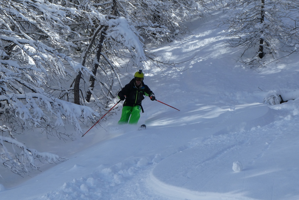 Ski randonnée les Orres - Pas mal pour un début