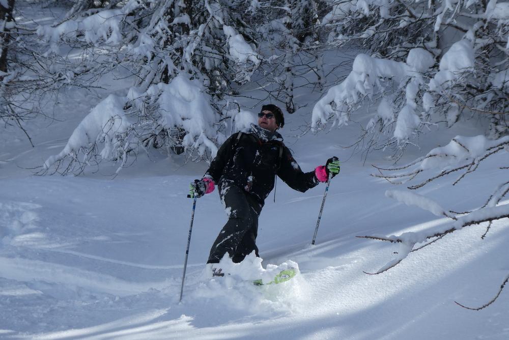 Ski randonnée les Orres - Goûteur de neige