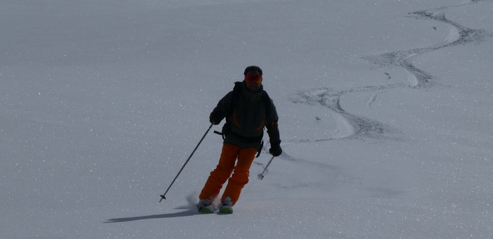 Ski randonnée les Orres - C'est bon ça!
