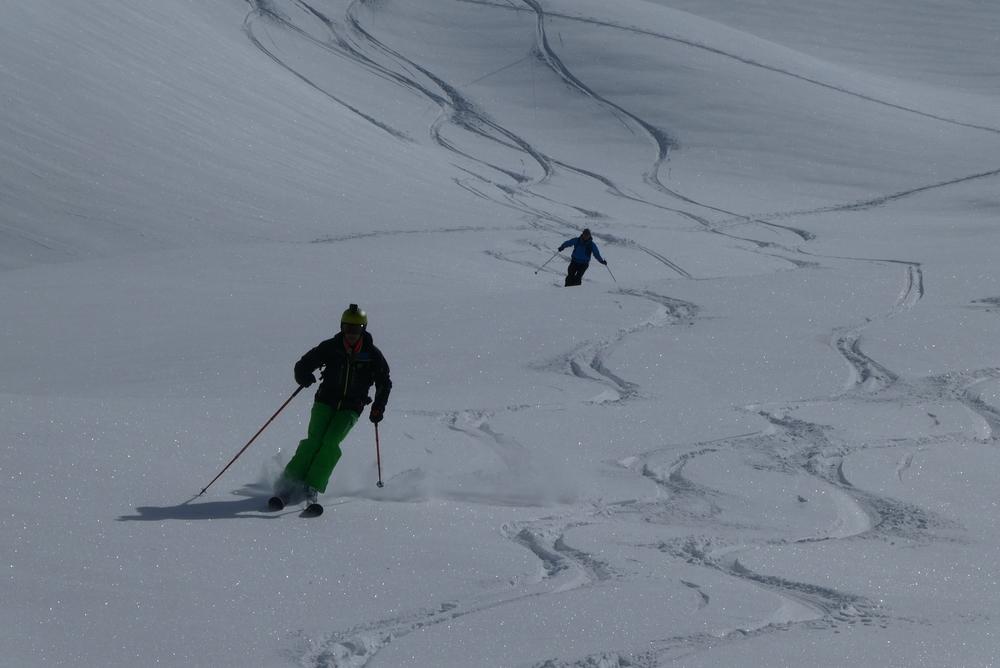 Ski randonnée les Orres - Plaisir