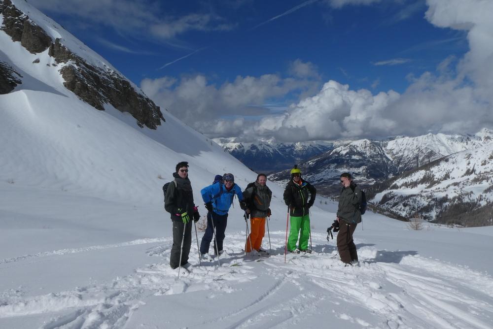 Ski randonnée les Orres - L'équipe