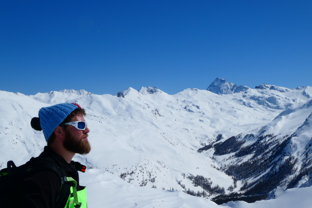 Couloir nord Rocher Blanc - Barbu vs Viso