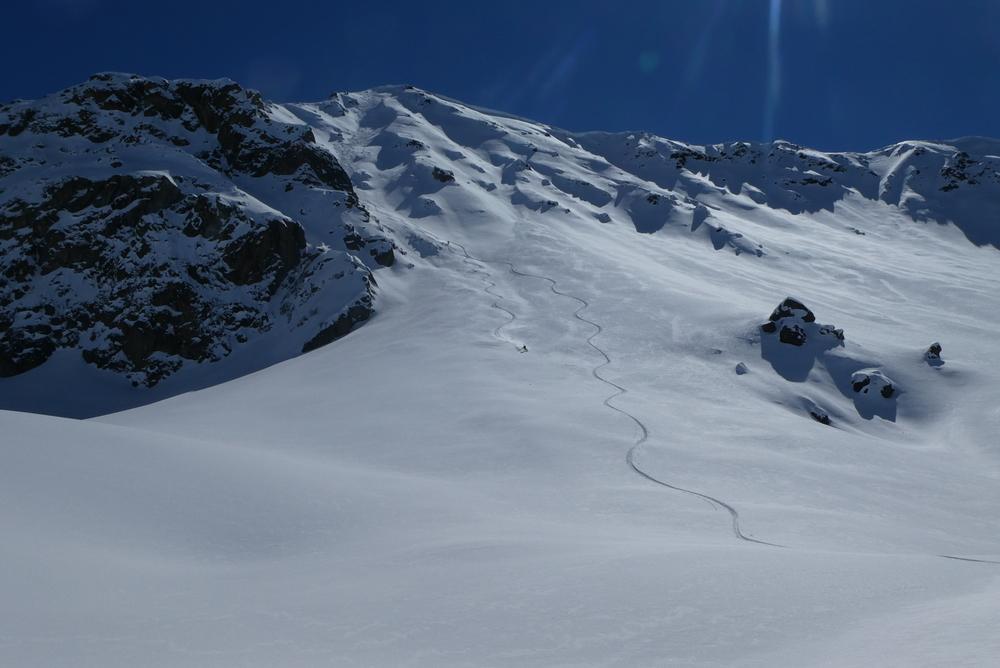 Couloir Nord du Rocher Blanc