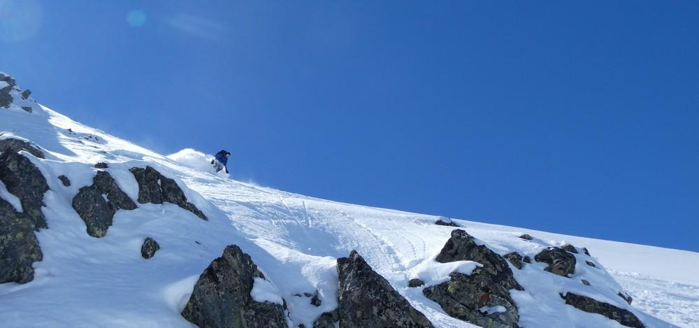 Ski hors piste rando - Valloire - Valmeinier - Premiers virages!