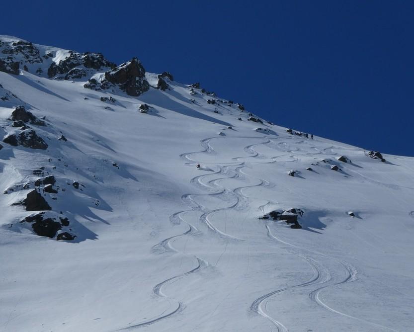 Ski hors piste rando - Valloire - Valmeinier - Bon début
