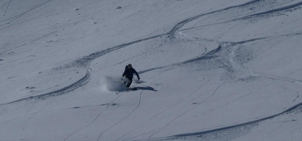 Ski hors piste rando - Valloire - Valmeinier - David