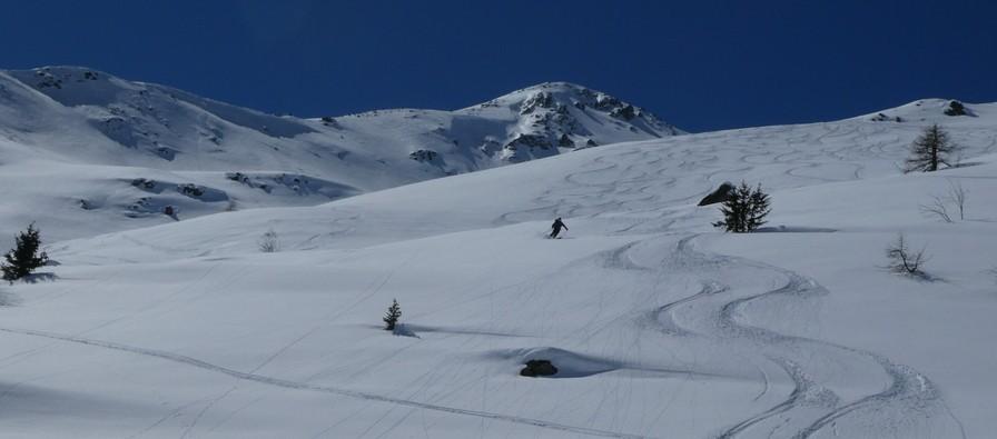 Ski hors piste rando - Valloire - Valmeinier - Magnifique tout ça
