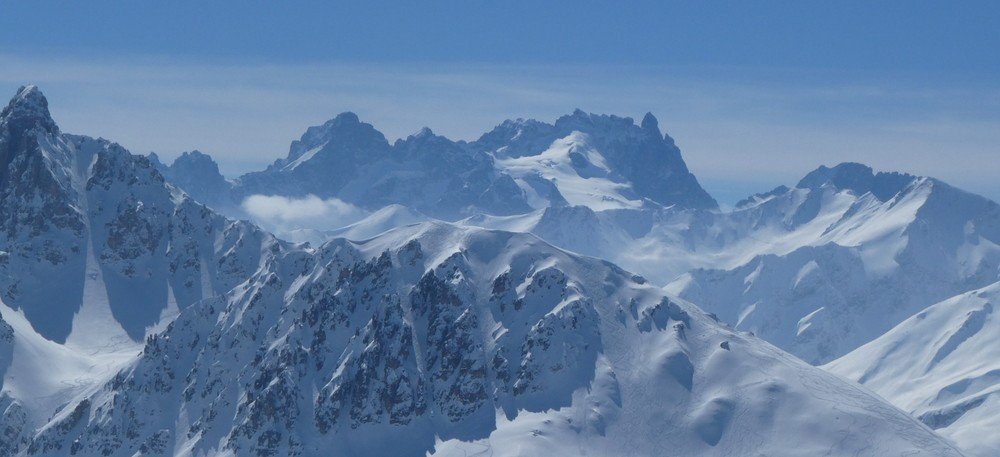 Ski hors piste rando - Valloire - Valmeinier - La meije