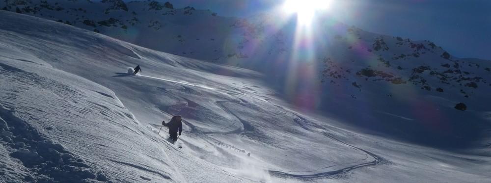 Ski hors piste rando - Valloire - Valmeinier - François et David