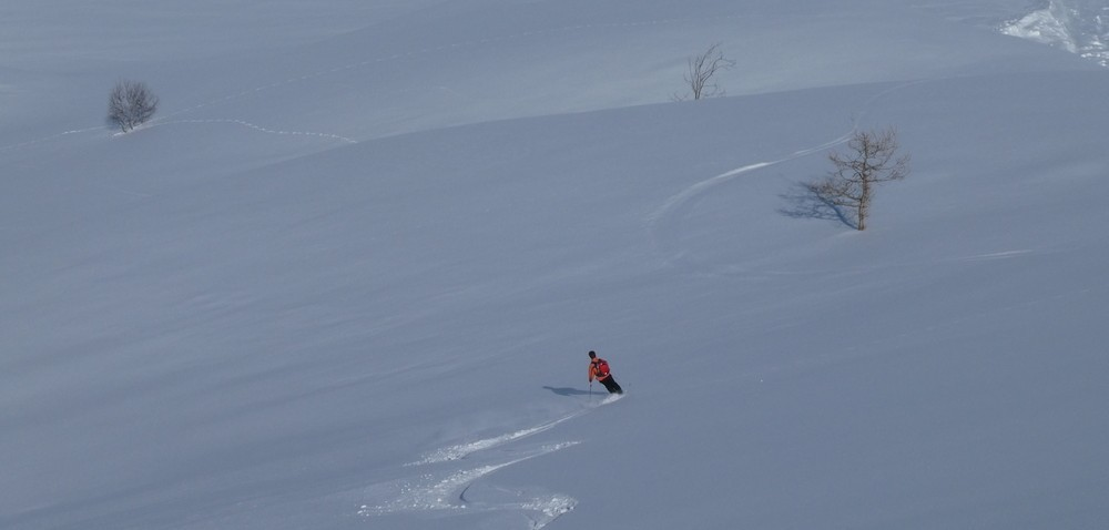 Ski de rando chez les Valmineux