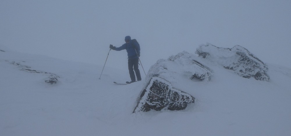 Ski rando - Roche Malotte - Petit fourchon - Ambiance givrée