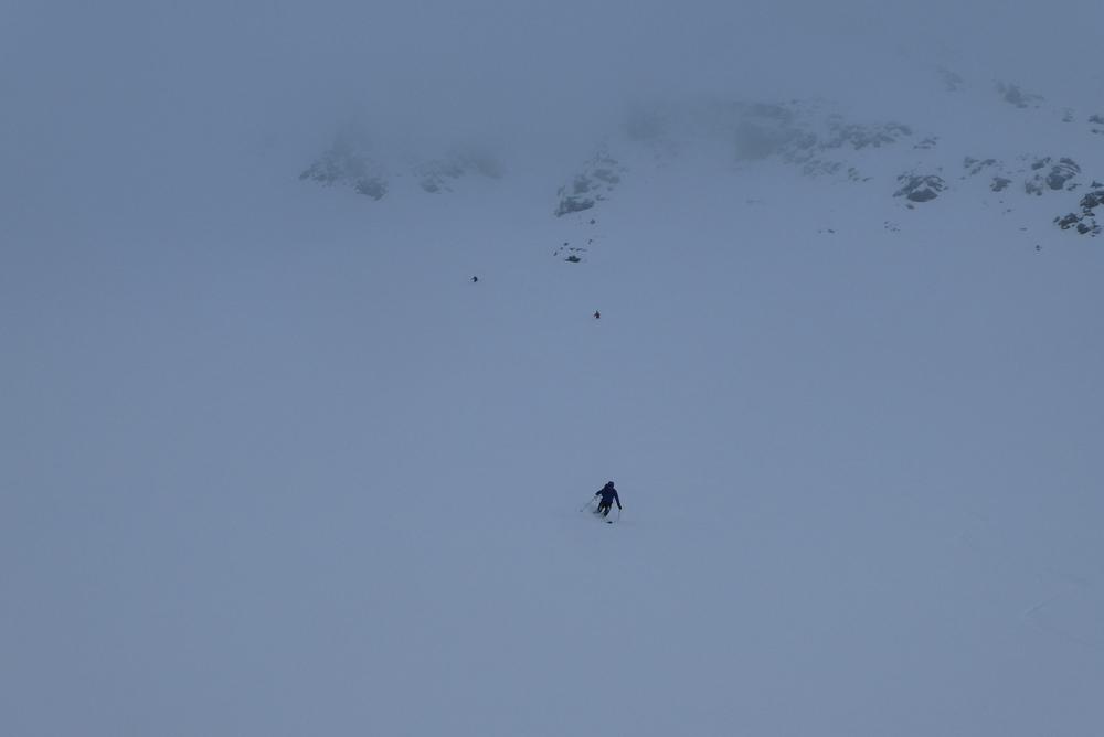 Ski rando - Roche Malotte - Petit fourchon - Champ de poudre