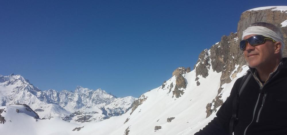 Tour de l'Aiguillette du Lauzet - Beaux paysages