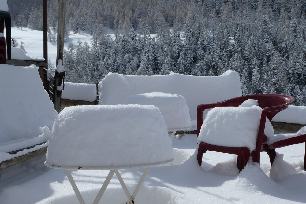 Week-end ski rando - Fouillouse - 5cm qui disaient!