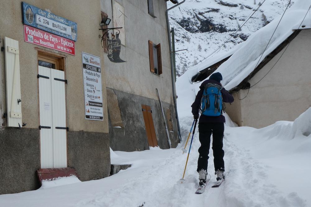Week-end ski rando - Fouillouse - Dans le bled