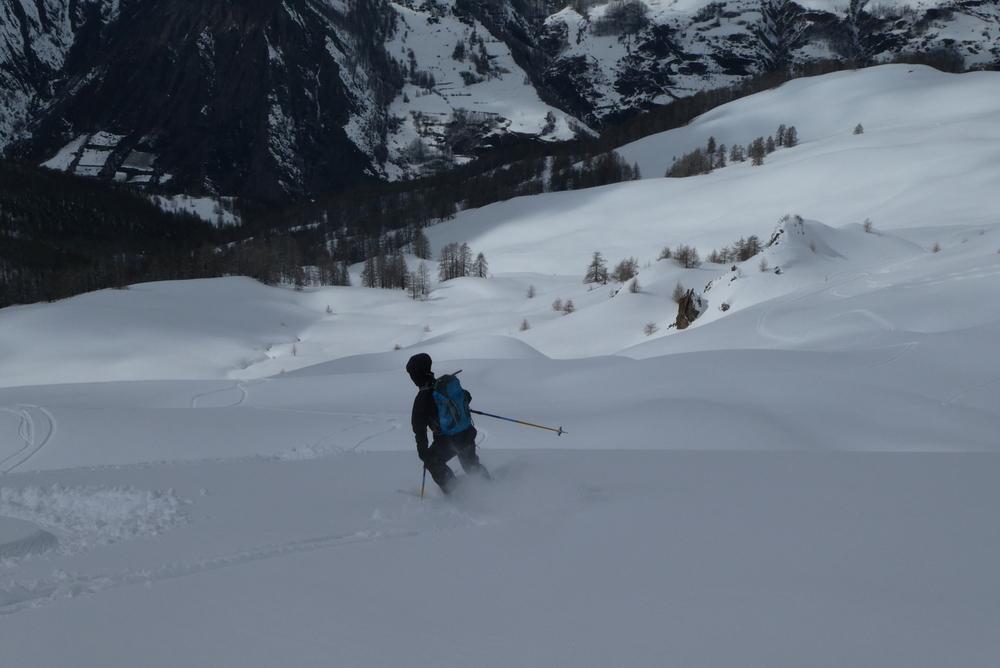 Week-end ski rando - Fouillouse - Laurence