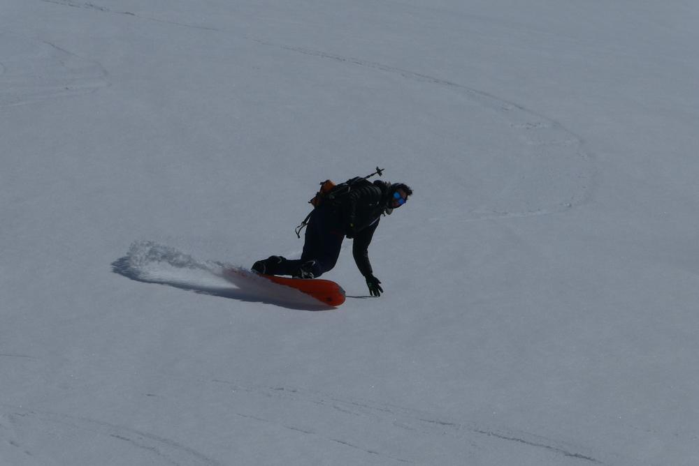Bric Cassin - Le splitboarder