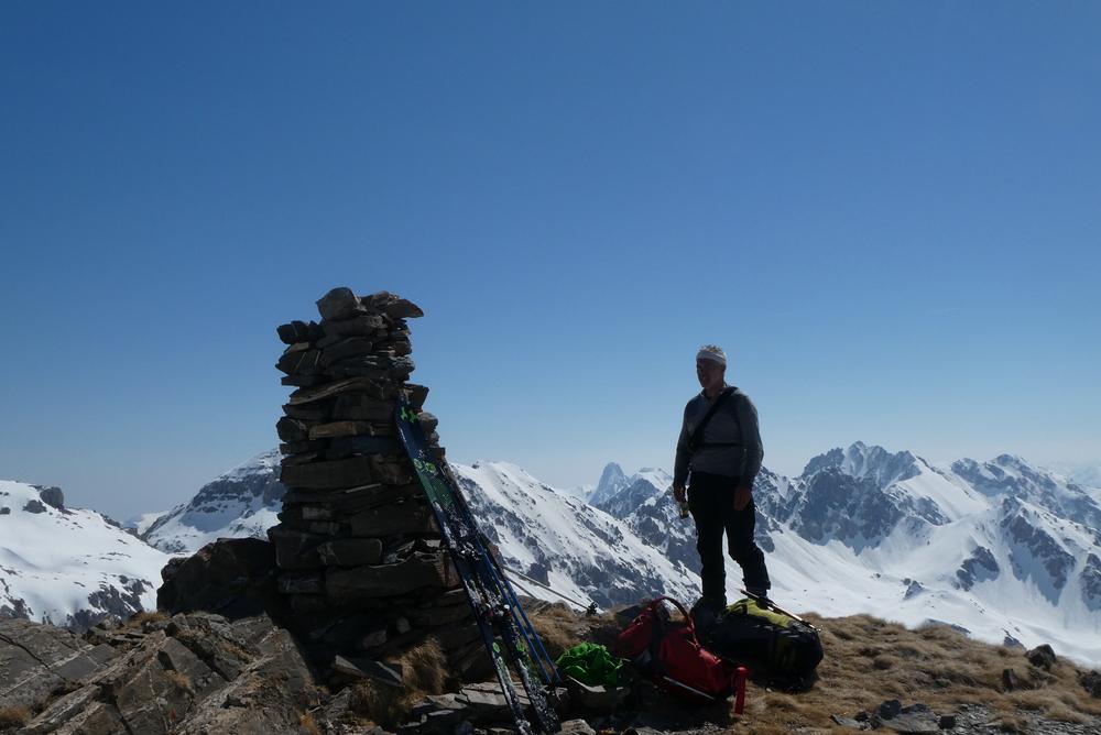 Cime Peyrassin - Au sommet