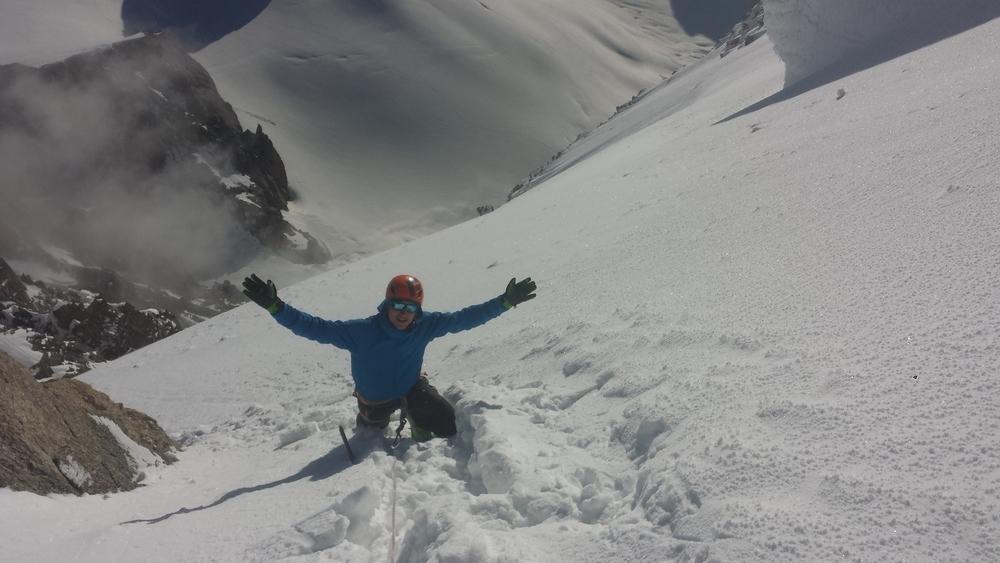 Mont-Blanc du Tacul - Ski - Jérémie sous le Tacul