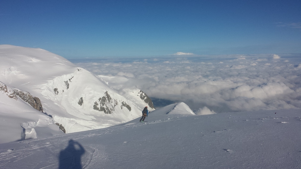 Mont-Blanc du Tacul - Ski - Ski sur l'épaule du tacul