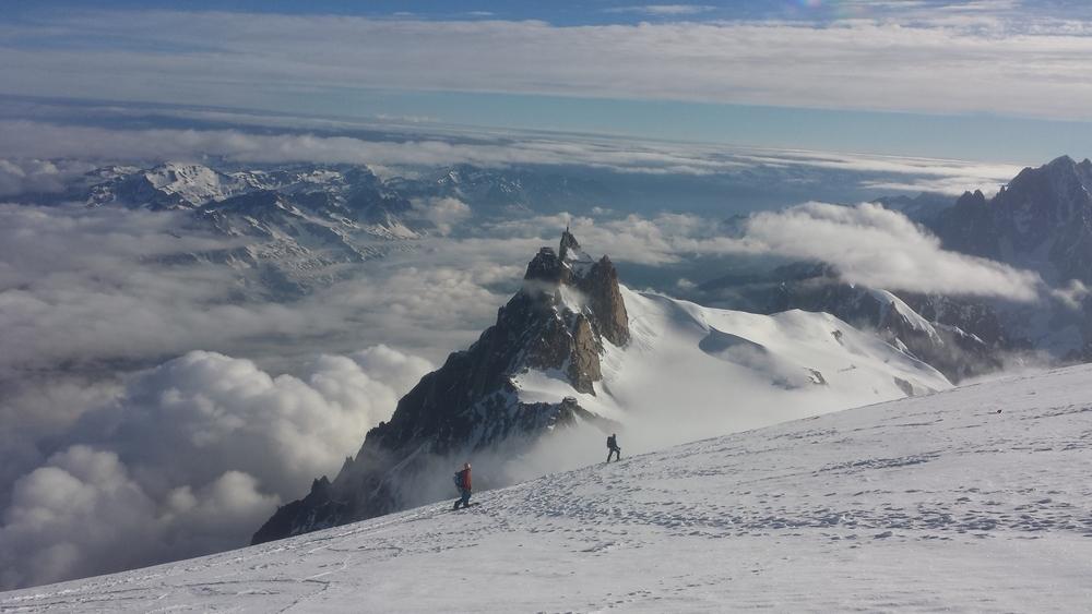 Une p'tite dernière à ski!