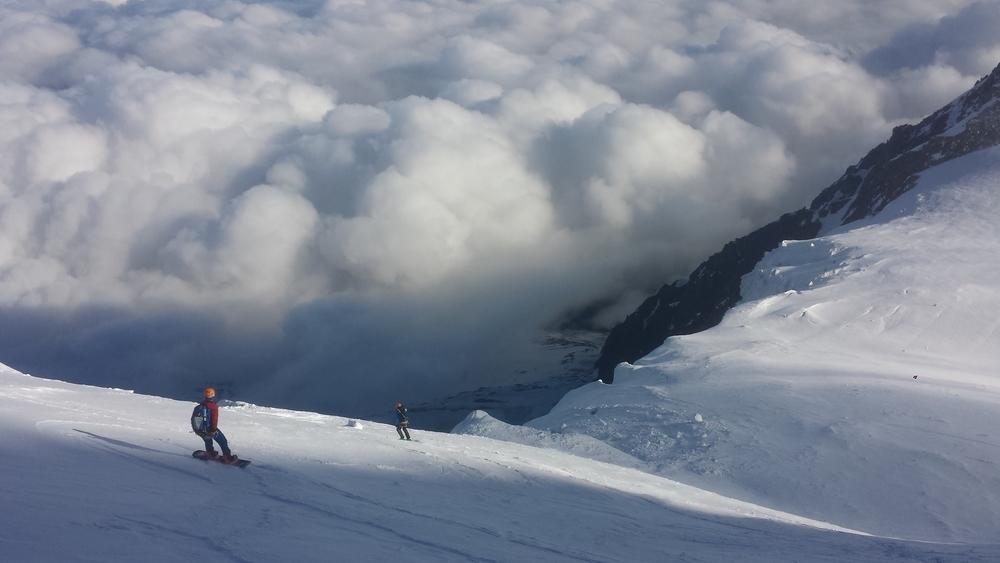 Mont-Blanc du Tacul - Ski - Ski dans la face nord du tacul