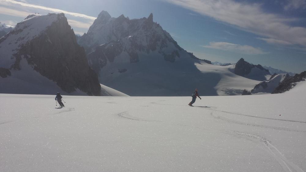 Mont-Blanc du Tacul - Ski - Vallée en moquette