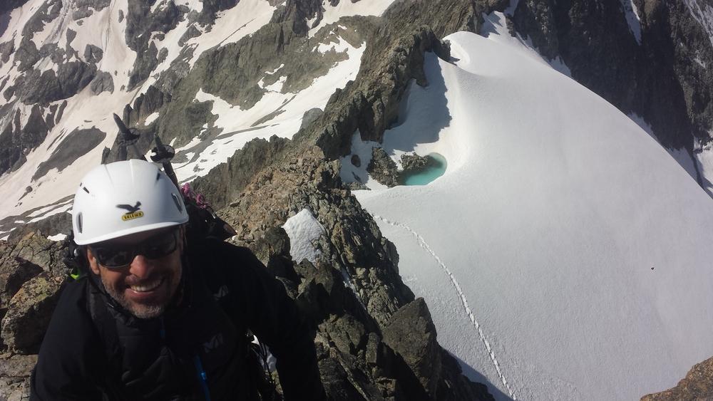 Pointe des Boeufs rouges - Descente vers le Col de la Condamine