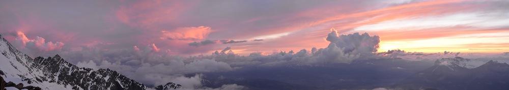 Mont-White au dessus des nuages