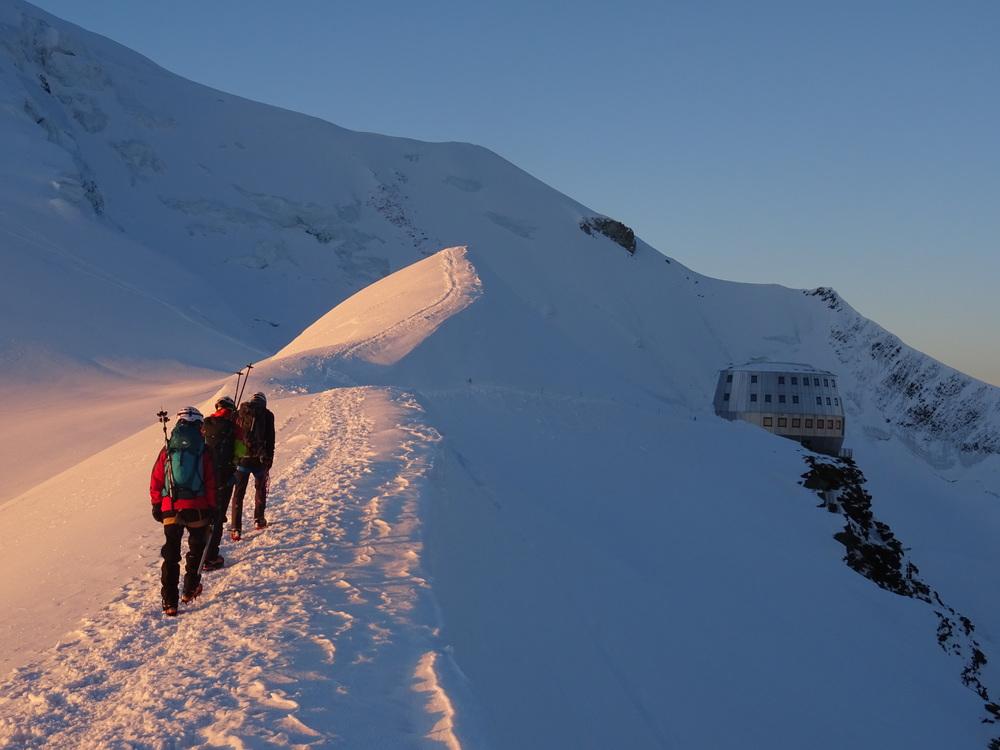 Mont-Blanc - Proche du refuge