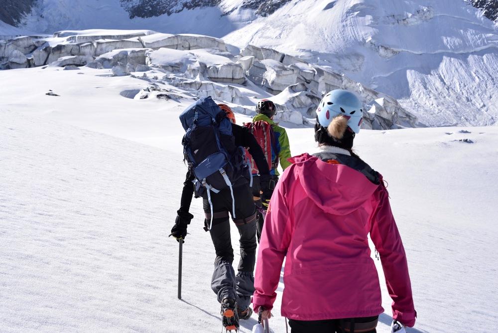 mont-blanc - glacier de Bionassay