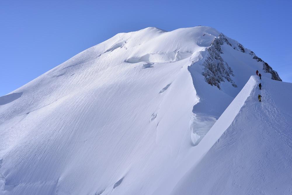 mont-blanc - le sommet