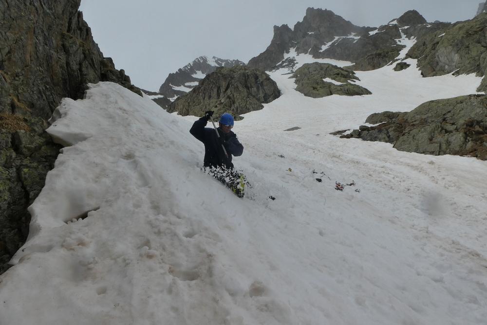 Raid ski Ecrins - Ecole de neige