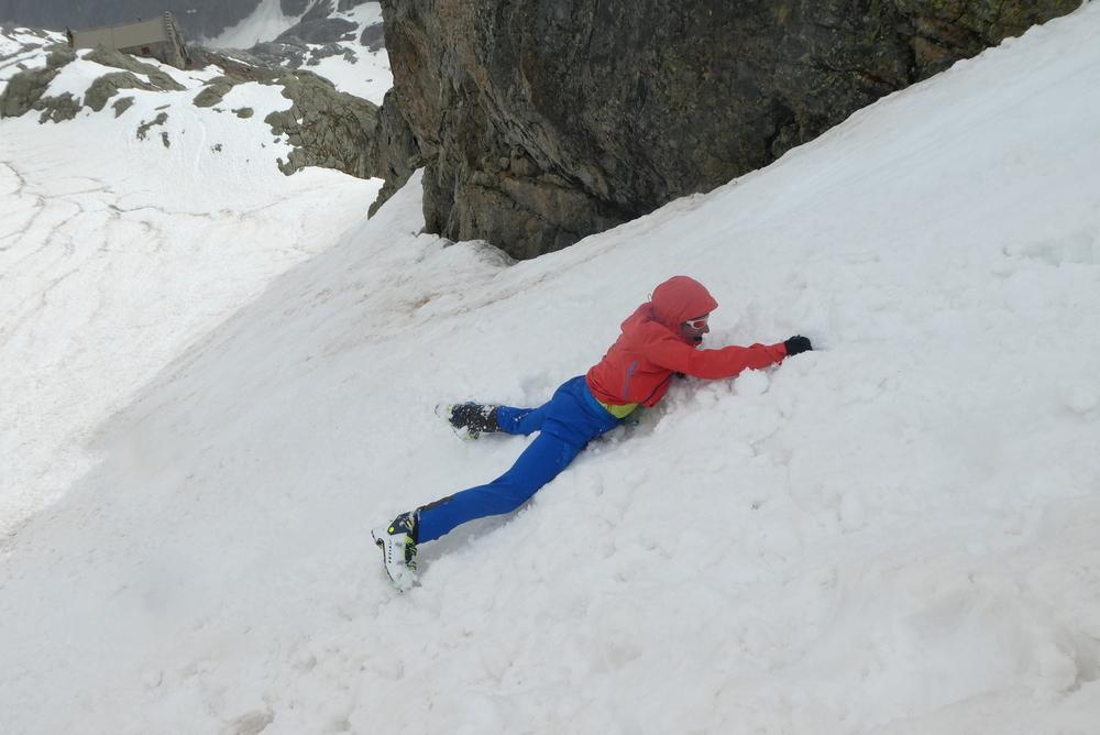 Raid ski Ecrins - Ecole de neige - JB