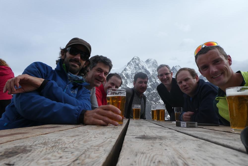 Raid ski Ecrins - Récompense