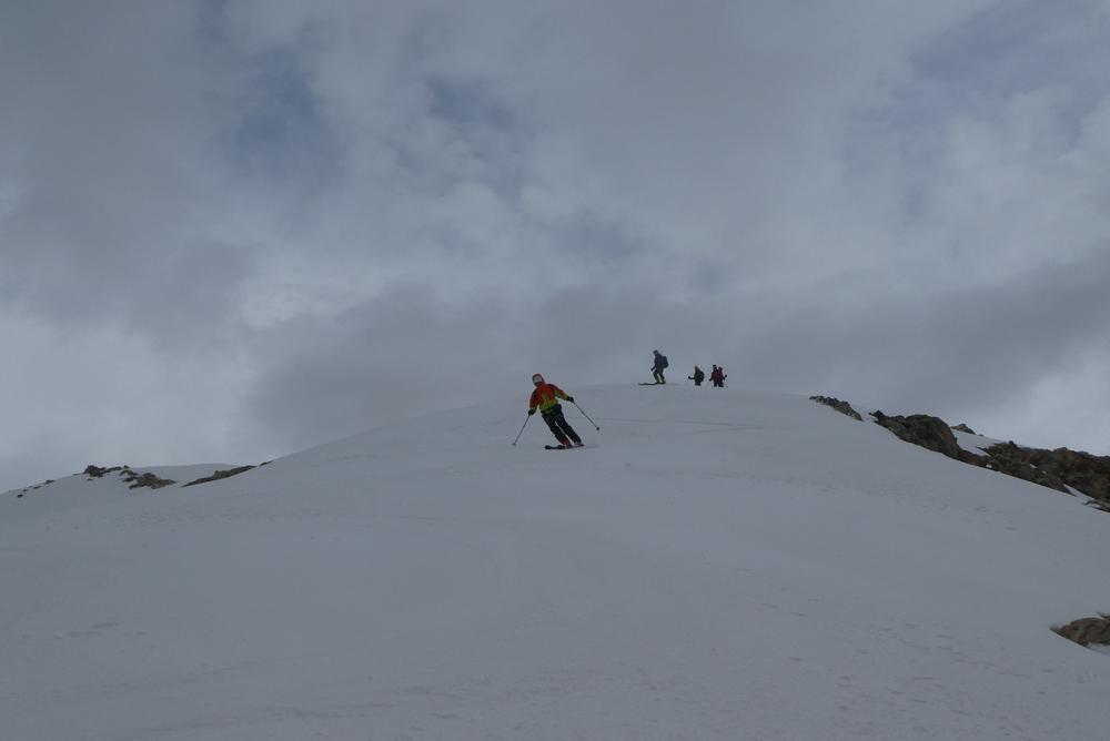 Raid ski Ecrins - Yihhah