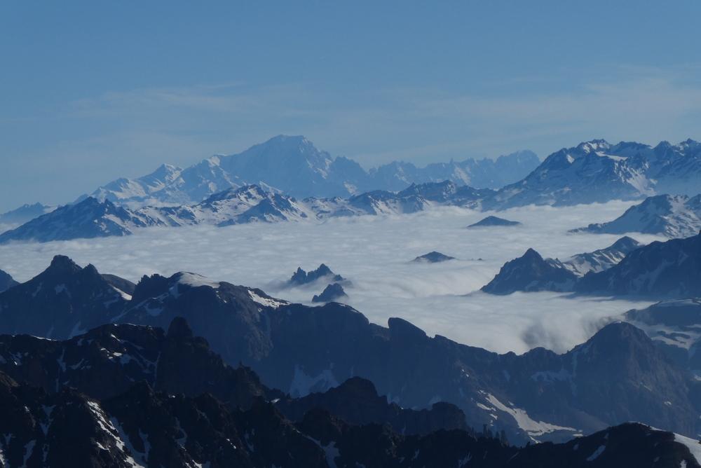 Traversée du Pic d'Arsine - Mer de nuage