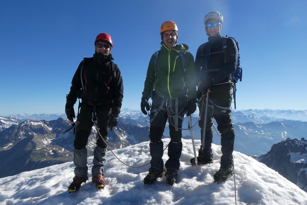 Dôme des Ecrins - 3 jours - Au sommet du Pic d'Arsine