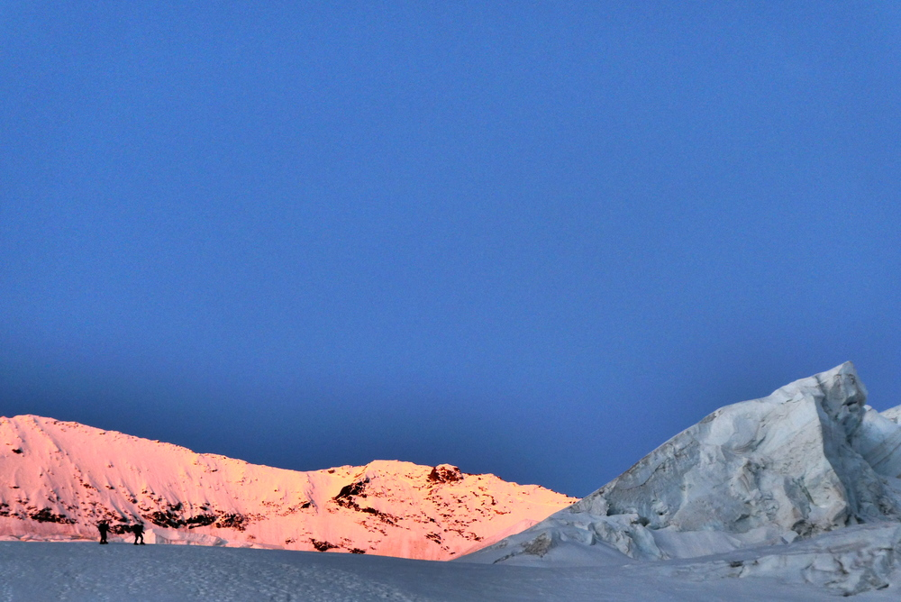 Dôme des Ecrins - 3 jours - Levé de soleil