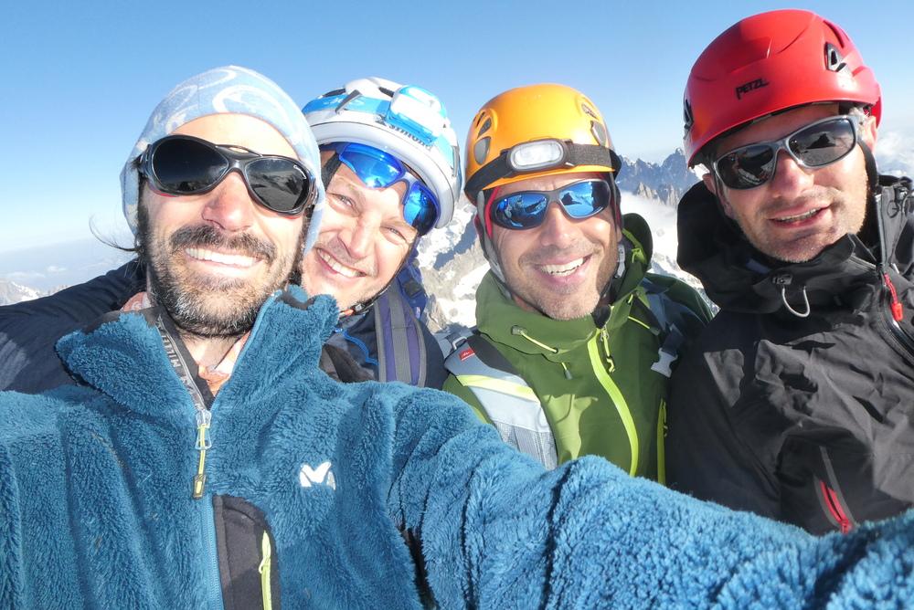 Dôme des Ecrins - 3 jours - Selfie