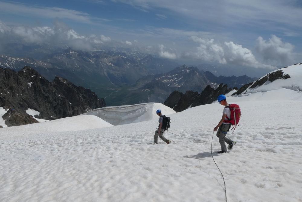 Traversée de la Meije - Glacier du Tabuchet