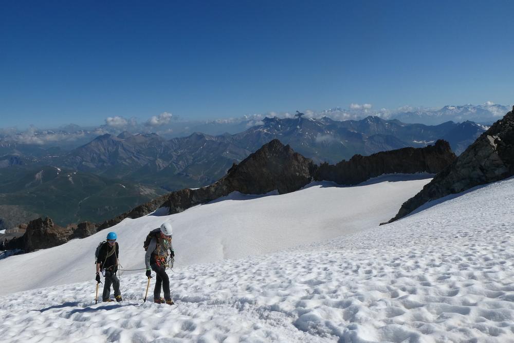 Stage autonomie débutant - Rateau ouest - Vers le Col de la Girose