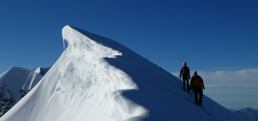 Traversée du Breithorn - Roccia Nera