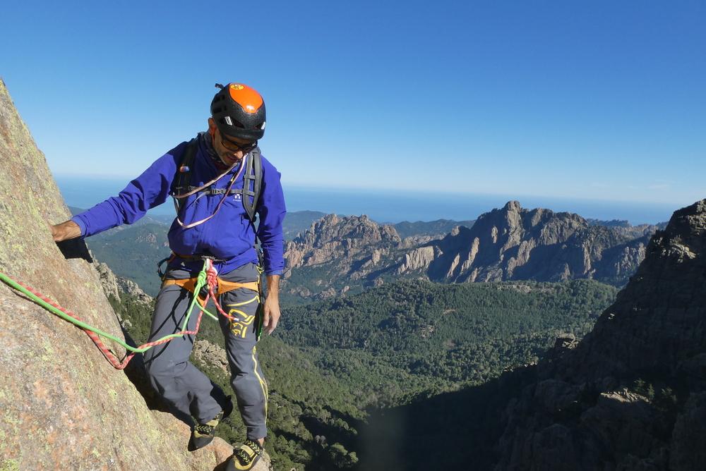 Voyage escalade Corse
