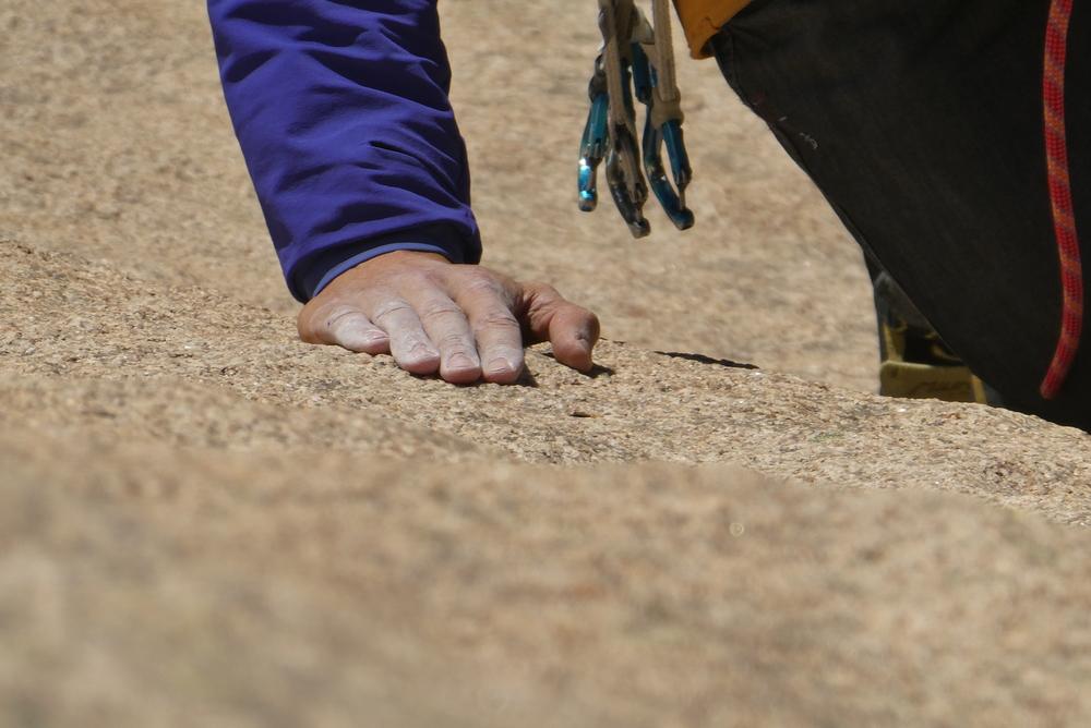 Bavella - Dos d'éléphant - main à plat