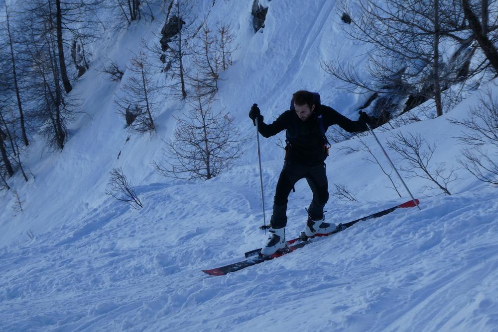 Initiation ski randonnée - Pic Cornivier - Converion