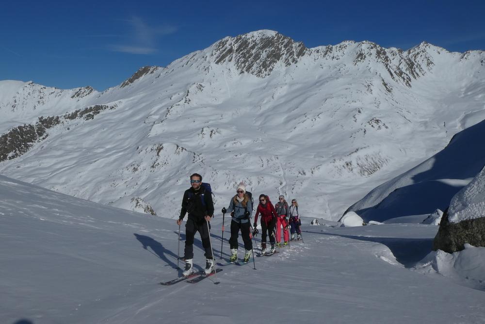 Initiation ski de randonnée