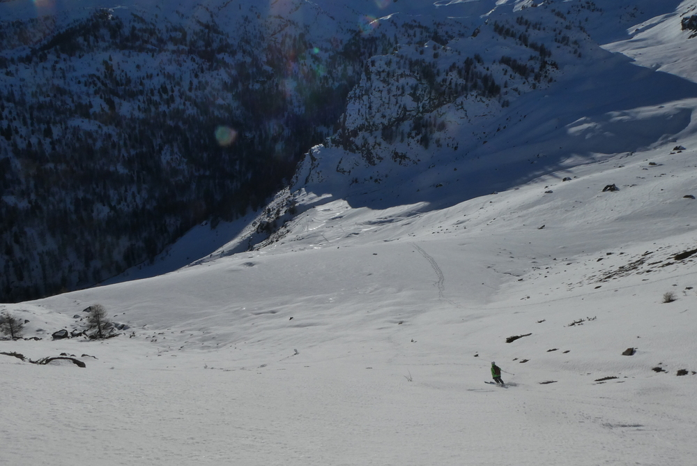 Col de Tramouillon - Ski de rando - Pas dégueu cette transfo!
